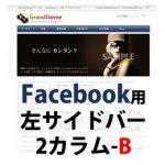 Facebook用テーマ001_FB_BL (2カラム)